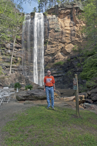 Dwight at Toccoa Falls, Georgia 2012