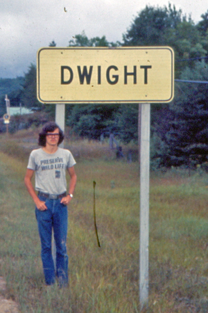 Dwight in Dwight Ontario 1973