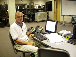 picture of Dwight at Cisco IP Telephony training 2007
